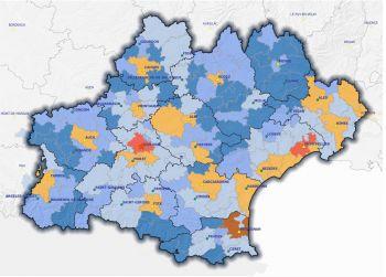 Mise à jour de l'Atlas de la région Occitanie