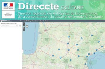 Annuaire de l'inspection du travail en Occitanie